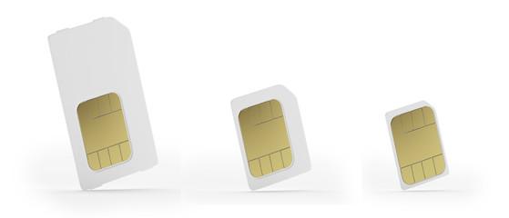現在の格安SIMカードは3種類