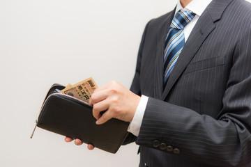 長 財布 の 持ち 方